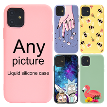 Original Quality Genuine Liquid silicone for iphone 12 case for iphone 11 Pro Case 7 8 Plus X XR XS max Cover Cases