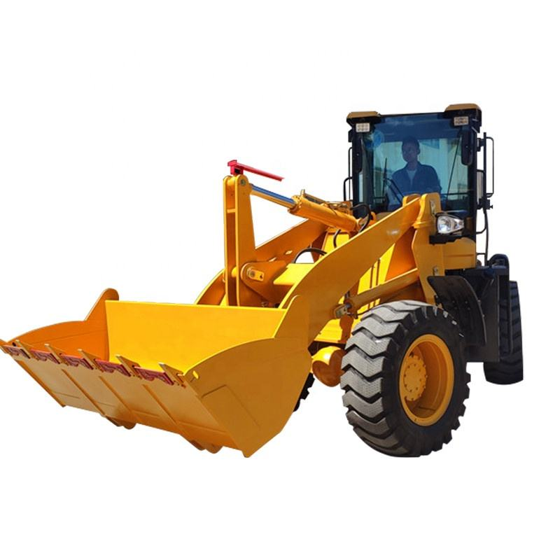 front loading soil machine