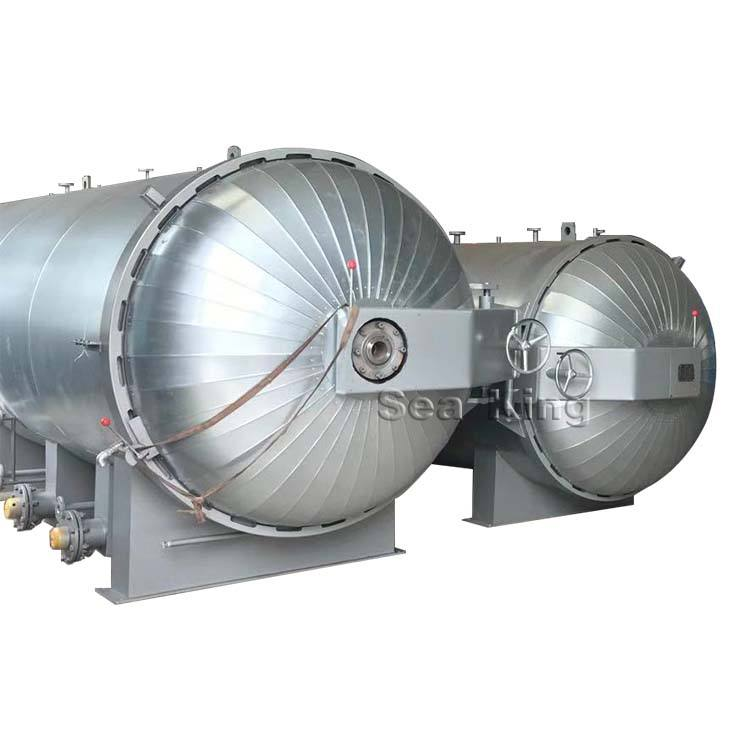 3000x6000 Electric Remold Tire Retreading Autoclaves Tank Machine