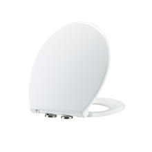 Eco-friend quiet oval toilet lid