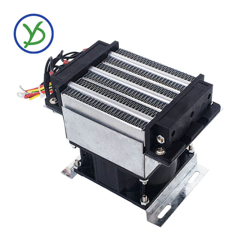 PTC fan heater constant temperature Industrial 400W 220V AC incubator air heater with fan