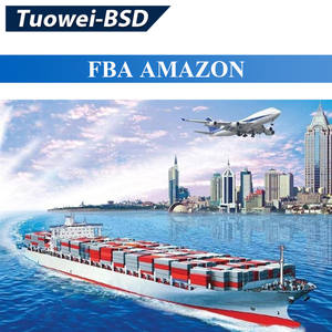 Tuowei-BSD MSK sea freight FCL LCL DDU CIF Ups Ems Fedex t shirt door to door china to Saudi Arabia shipment agents