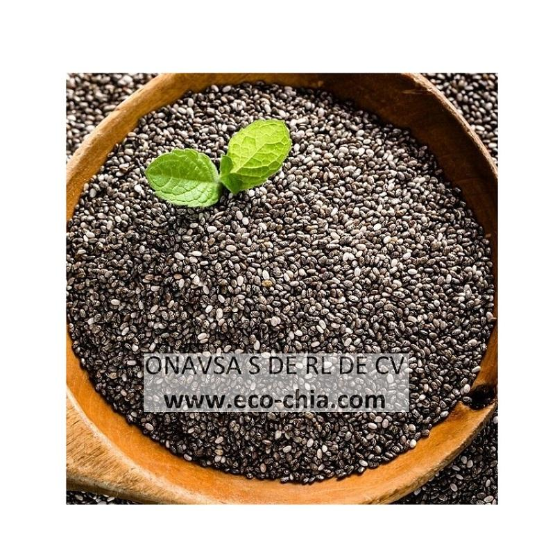 Hot Selling Certified Chia Seed Organic Black From Mexico For Wholesale