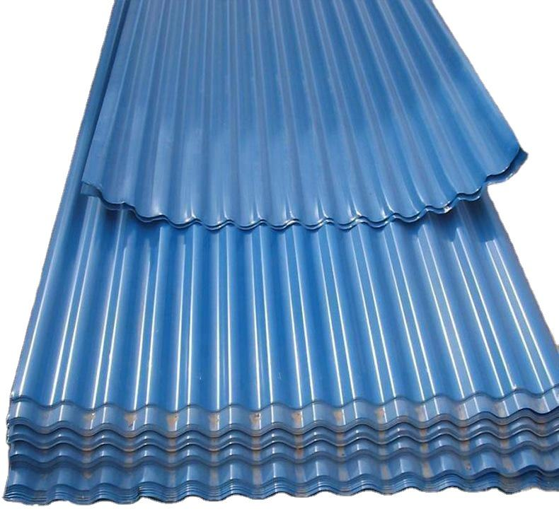 Corrugated Aluminum Sheet Metal Roofing For Construction Industry