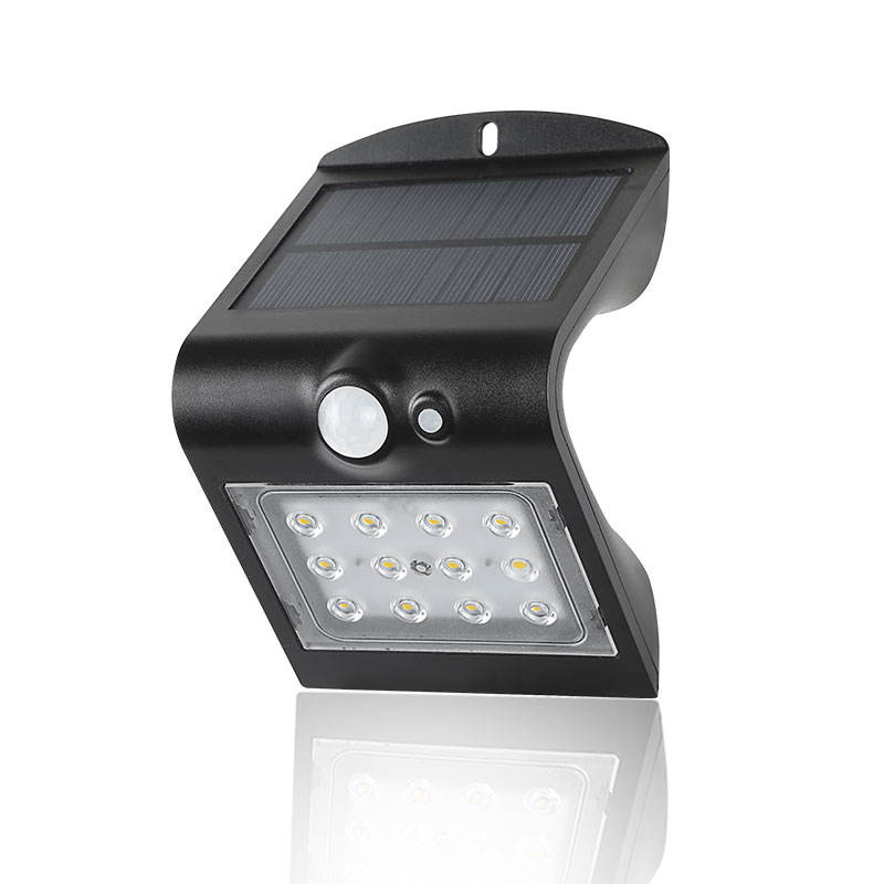Fortune 500 chosen solar porch garden light butterfly for stairs with select-able work mode