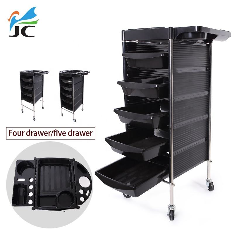 barber facial manicure hairdressing plastic hair beauty salon trolley