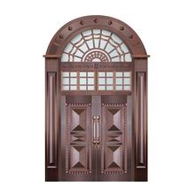 Best Price One High Quality Half Door Leaf Entry Doors Double Leaf Steel Door Price