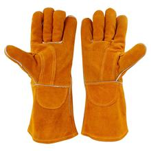 Safety Cowhide Split Leather Welding Working Glove