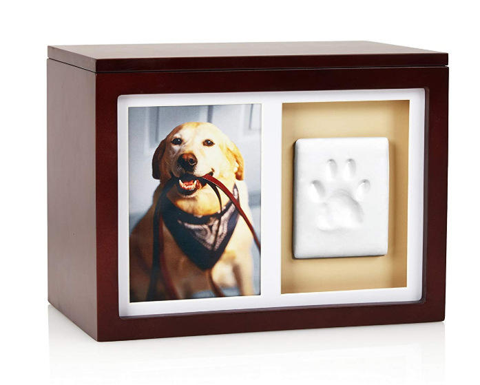 Wholesale Burial Wooden Casket Pet Dog Cremation urns Animal Ashes Mini Wood Pet urns