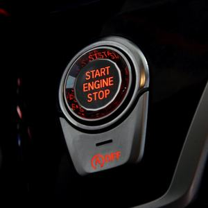 Car Auto Car 1 Start Stop Button Engine Push Button Keyless Entry Starter
