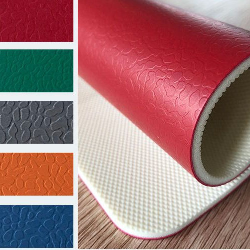 4.0/5.0/6.0mm Best choice PVC Sports Plastic Flooring in rolls Used Table Tennis Floor Covering