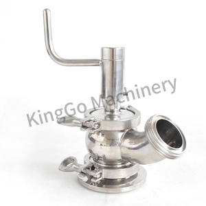 Sanitary stainless steel SS304 SS316L Manual Tank Bottom seat Valve