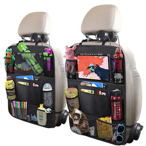 Multifunction Nylon Back Seat Car Seat Backseat Storage Organizer Bag