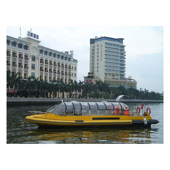 11.5M Fiberglass Passenger Ferry Boat For Sale Passenger River Boat Water Bus