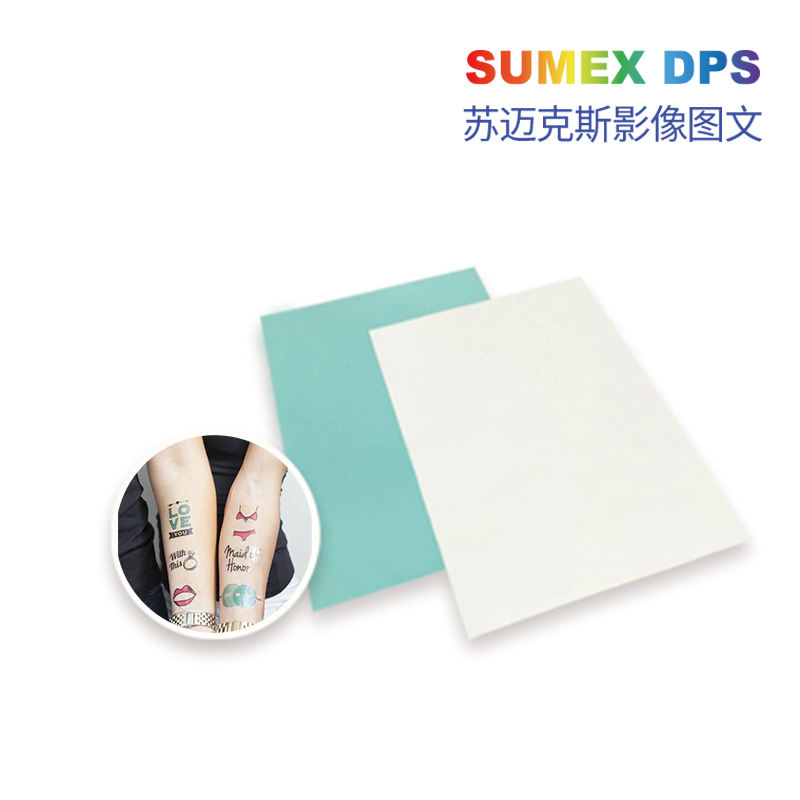Printable Inkjet Non- waterproof Temporary Tattoo Paper