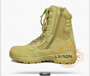 Beige Military Desert Boots Tactical Army Hiking Boots Military
