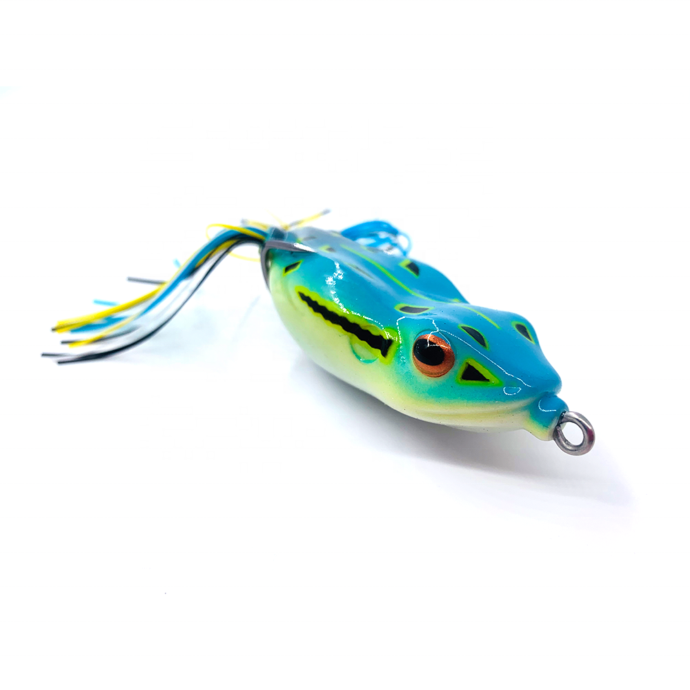 Fishing Frog Lure 70mm 21g Topwater Floating Fishing Lure for Saltwater Silicone Artificial Frog Bait Fishing Wobblers