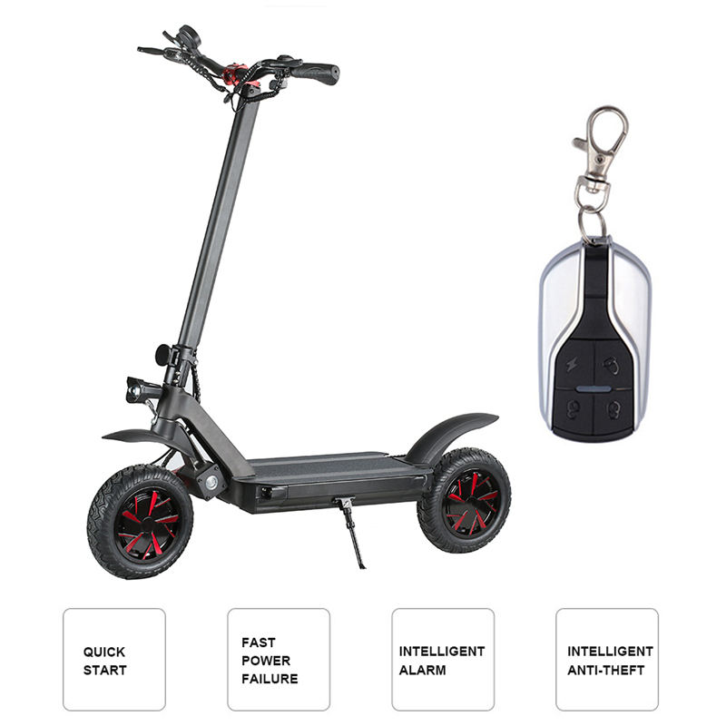 Dual motors 3600w skateboard electric mobility scooter more powerful 52v for cross country and climb sports