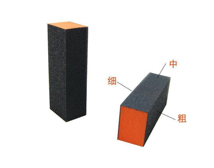 nails salon professional product block 3 sides nail buffer sponge