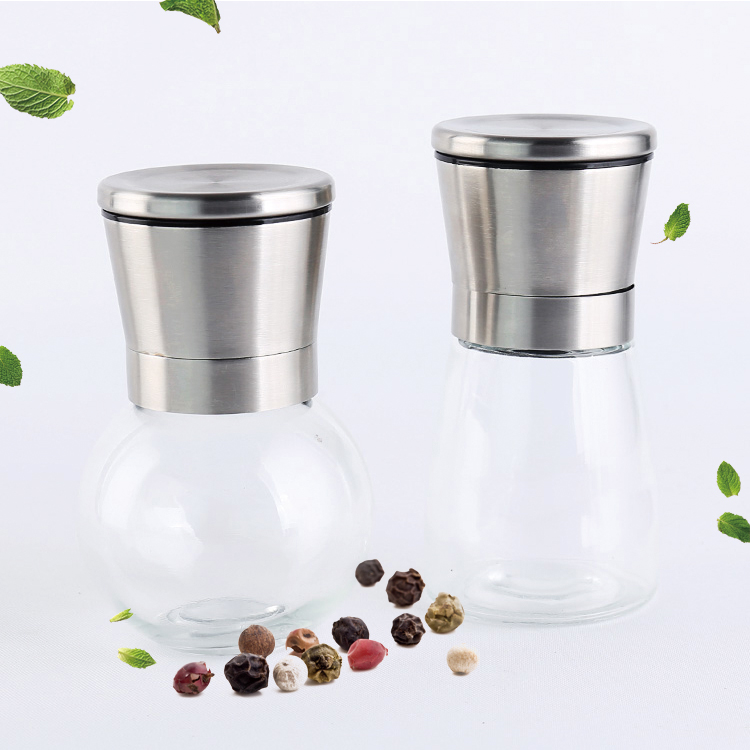 Mini bottiglia di pepe mill grinder cap sale e
