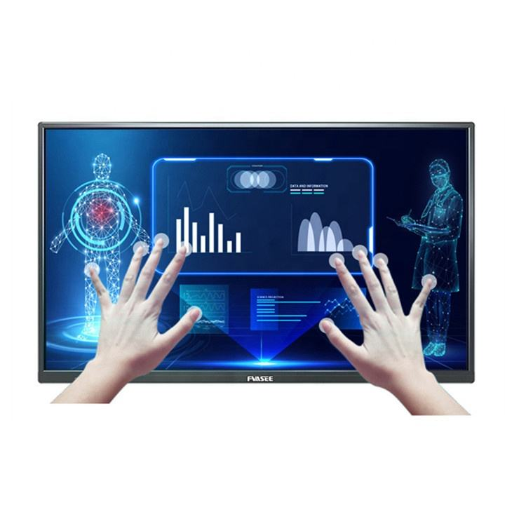 FVASEE Smart Classroom Solution 55 Infrared Touch Screen Monitor Interactive Display Flat Panel