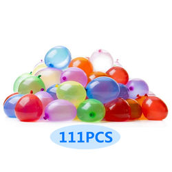 Water Balloons 111pcs/Pack Quick Fill Up Summer Toys Bomb Games Toy Party Balloons Water Balls Out Door Games