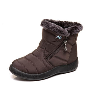 Women Winter Snow Boots Warm Anti-Slip Ankle Bootie Waterproof Outdoor Shoes