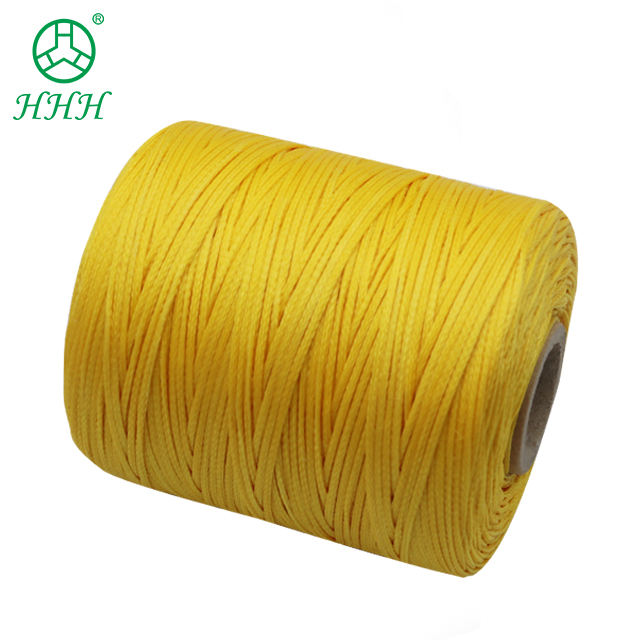 400g Hand Sewing 210D 16 Waxed Thread 1mm Spun Polyester Braid Flat Wax Thread Leather