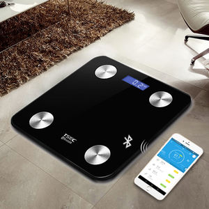 Jinhua hot sale human beauty gift Electronic Digital Body Fat Bluetooth BMI APP Weighing fashion smart body fat Bathroom Scale