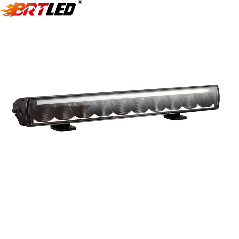 13inch/20inch Schlank led licht bar mit position licht IP68 Emark ECE R112 genehmigt für autos, off-road,ATV,UTV
