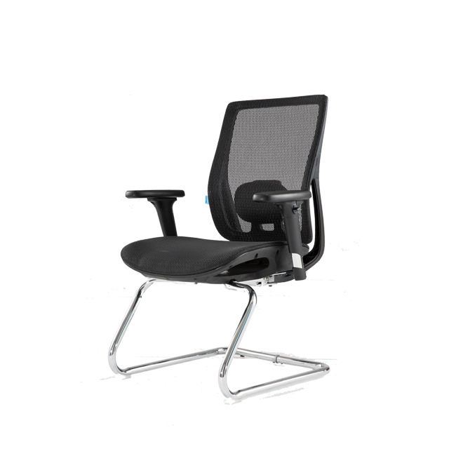 Luxury Furniture Back Chair Swivel Aluminium Base Executive Office Chair
