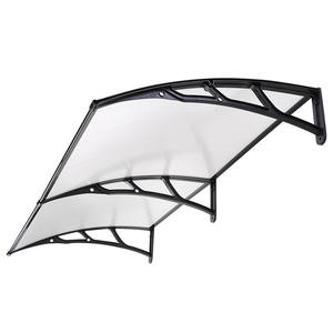 polycarbonate awnings/ polycarbonate rain shelter/ outdoor window canopy