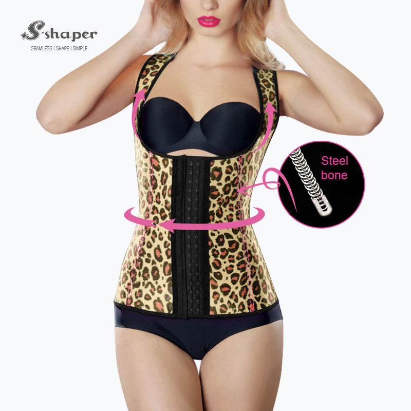S-SHAPER Discount Taille Fajas Corps Shapers, Rose Couleur Latex Ceinture Gilet