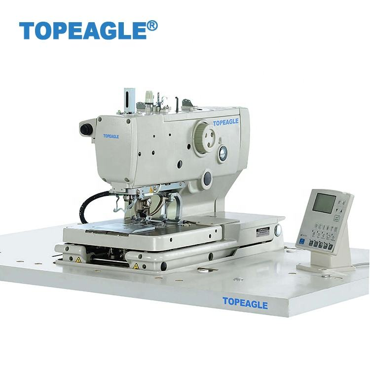 TOPEAGLE TBH-9820A-01 Electronic eyelet button hole sewing machine (long thread cutting)