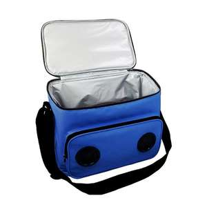 12 Can waterproof custom picnic shoulder cooler bag with speaker