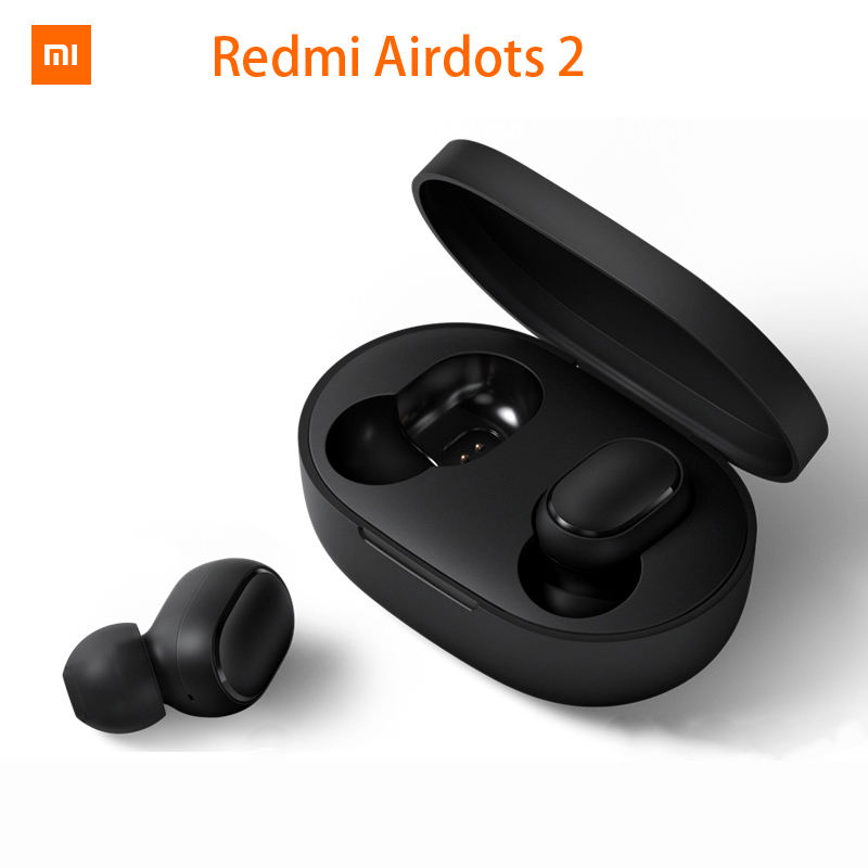 Xiaomi Redmi AirDots 2 Wireless Bluetooth 5.0 Charging Earphone In-Ear stereo bass Earphones Ture Wireless Earbuds AI Control