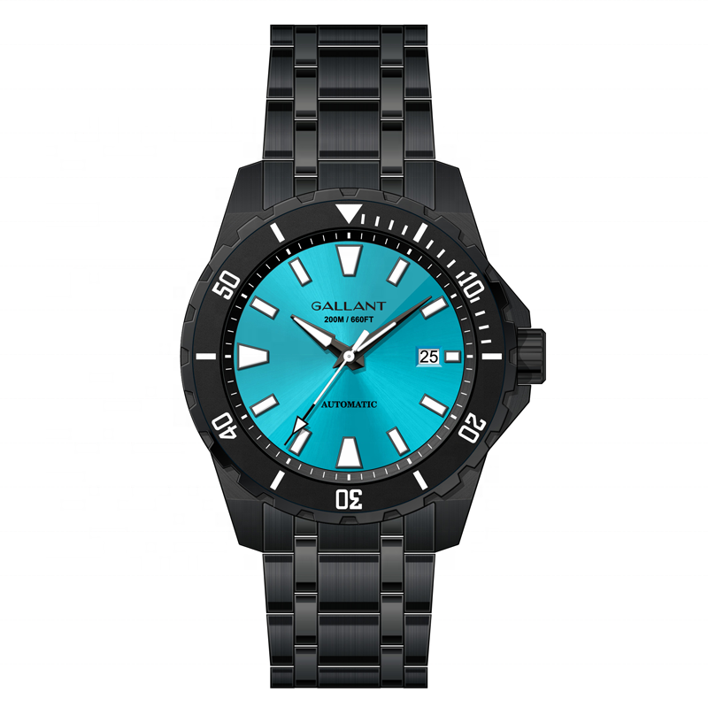 New design dive watches custom own brand watch swiss superluminova c3 dial/ ceramic bezel 20 atm automatic diver watch