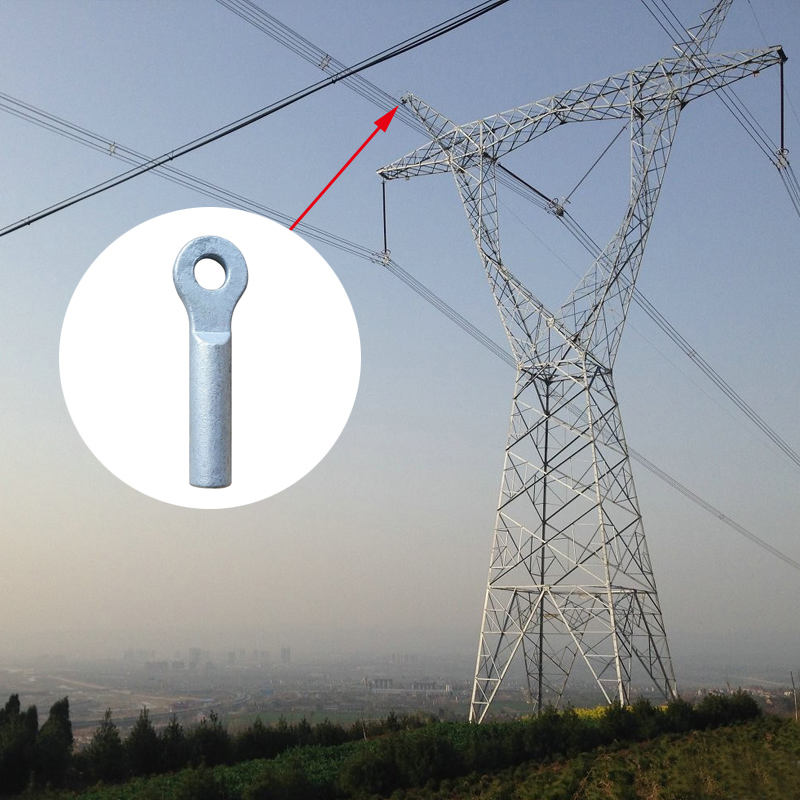Changyuantinned Ground Wire Terminal High Voltage Circuit Aluminum Compression Lugs Crimp Connector Terminal