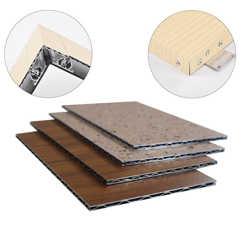 Top Quality A2 Aluminum Corrugated Core Composite Metal Wall Panels 2.5MM 3MM 4MM 5MM