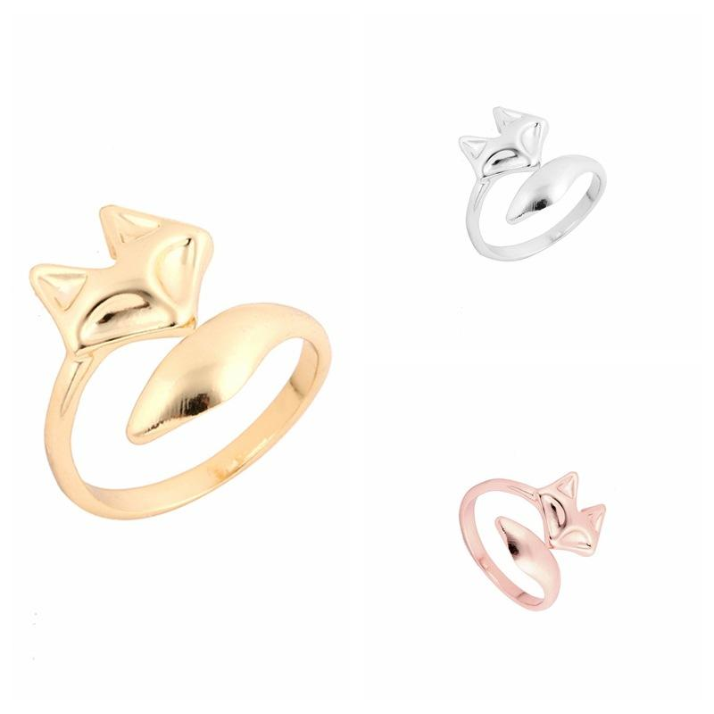 European Fashion Fox Design Tat Rings for woman