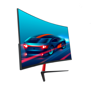 24 Inch 1 K Gebogen Screen Pc Monitor Smalle Grens Led Smart Computer Monitor Desktop Goedkope Lcd Monitor 60Hz 75Hz 144Hz