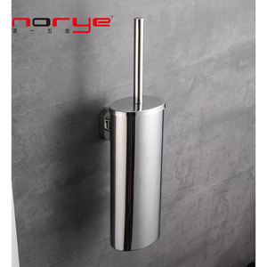 Bathroom accessories hotel Toilet Brush Holder with holder wall mounted stainless steel