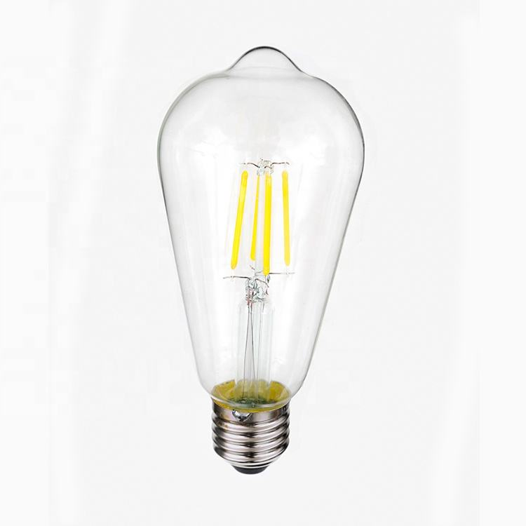 Hot Koop Tungsten Filament Led Edison Serie ST64 <span class=keywords><strong>Lamp</strong></span> Hoge Helderheid <span class=keywords><strong>Lamp</strong></span> Indoor Licht