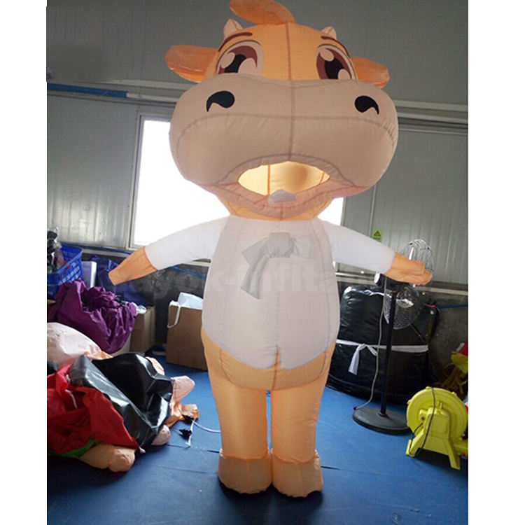 Customs 2m Inflatable Cartoon Characters Animal Suit