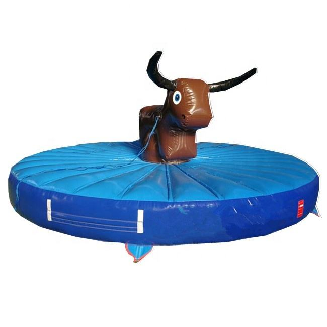 Pull Opblaasbare Riding Game Opblaasbare Rodeo Stier/Pull Rijden Opblaasbare Rodeo Voor Kids