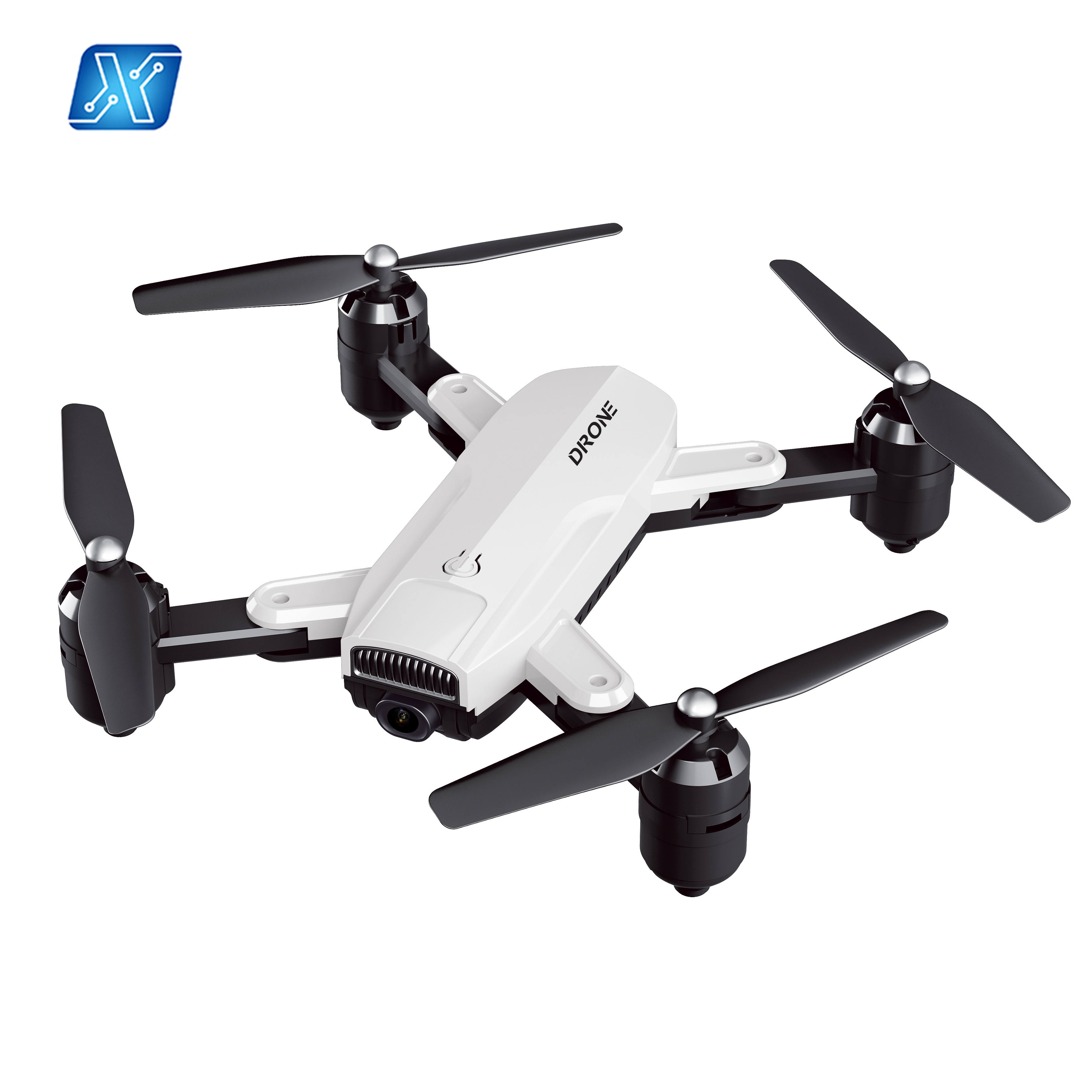Professional 4K HD Foldable Dron with Double Camera WiFi FPV Optical Flow Follow RC Quadcopter Helicopter Drone