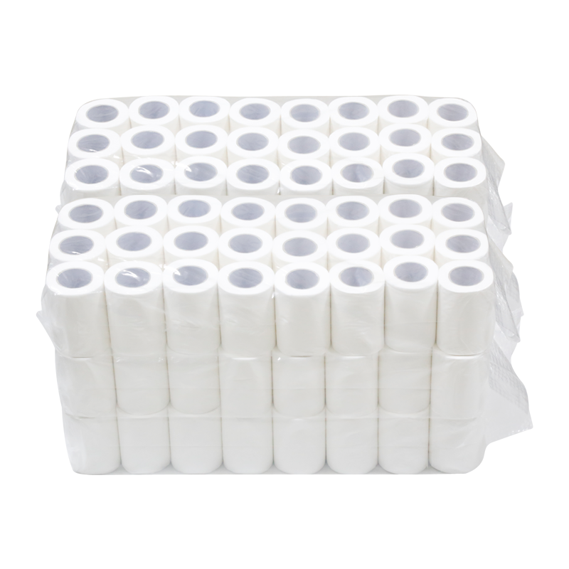 Free Sample Plain Pack in Roll Toilet Paper for Hotel Pub