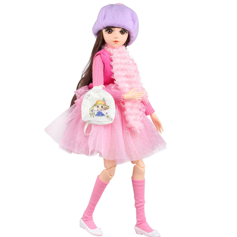 Senior Play House Toys Singing Barbie Dolls Plastic Princess Dolls Programable Hair Girl Toys