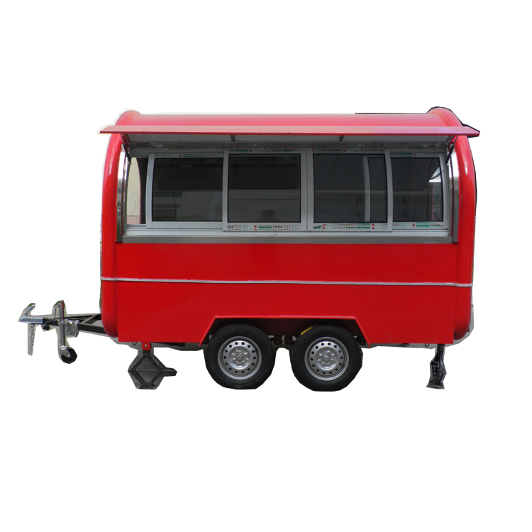 Hamburgers Indoor Bakery Mobile Food Truck Electric Food Cart Cooking Trailers For Sale In Germany / Thai