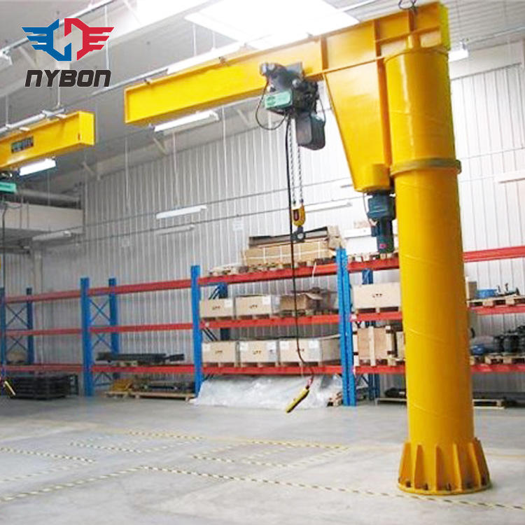 Column standing 270 rotation Jib Arm Crane for sale